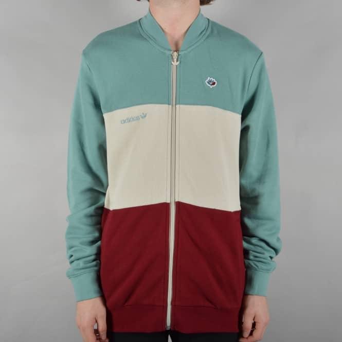 da7585a5f X Magenta Skate Jacket - Vapour Steel /Clear Brown/Collegiate Burgundy