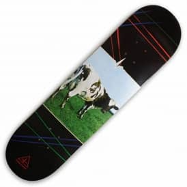 X Pink Floyd Atom Heart Mother Skateboard Deck 8.0""