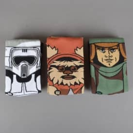 X Star Wars Return Of The Jedi Gift Set Socks - 3 Pack