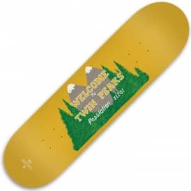 x Twin Peaks Welcome Skateboard Deck 8.25