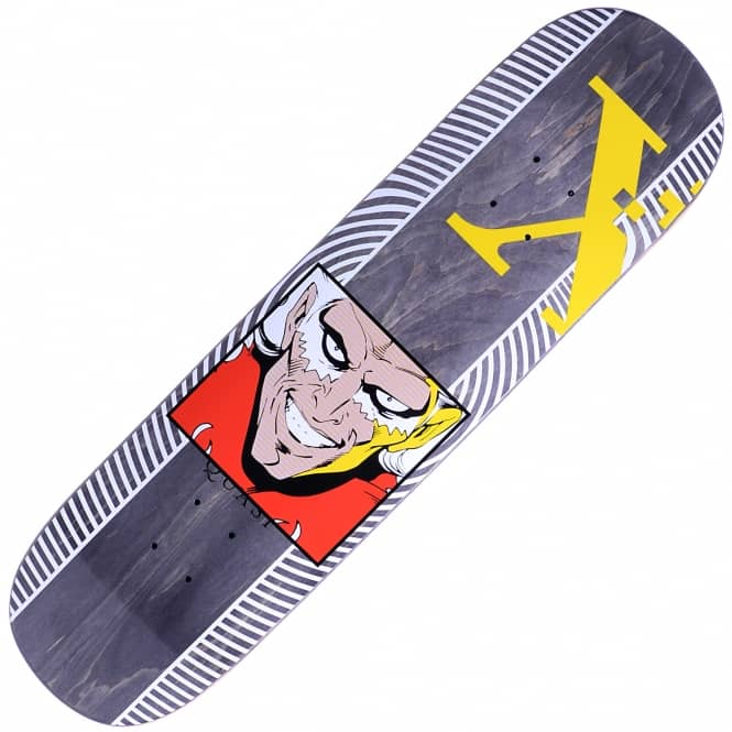 Quasi Skateboards X Two Grey Skateboard Deck 8.25