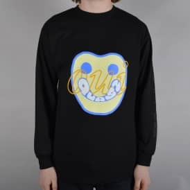 Yes Longsleeve T-Shirt - Black