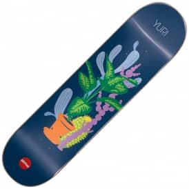 Yuri Grower Not A Shower Skateboard Deck 8.25