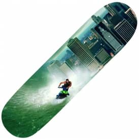 Zered Tsunami Chilling In Disasters Skateboard Deck 8.3