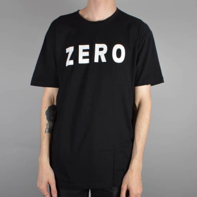 Zero Skateboards Zero Army Skate T-Shirt - Black - SKATE CLOTHING ... f946bbed1b0