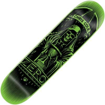 Zero Skateboards Zero Chris Cole Angel Of Death Skateboard ...