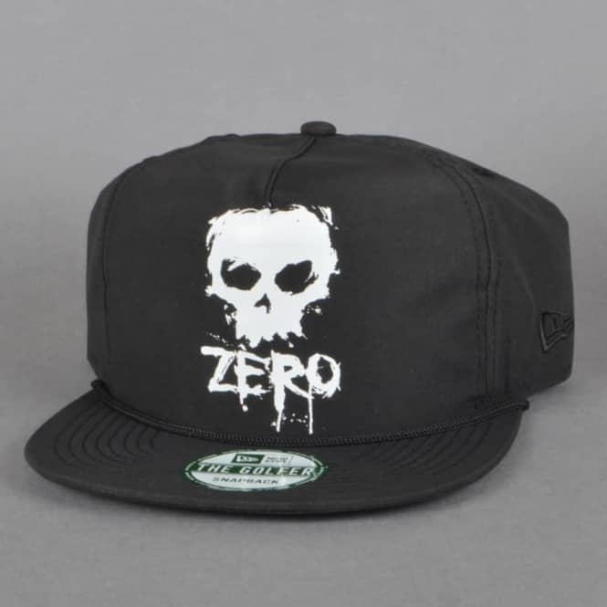 Zero Skateboards Blood Skull Unstructured Snapback Cap - Black ... 5b3808b0aa76