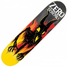 Zero Skateboards Boserio From Hell Impact Light Skateboard Deck 8.375""