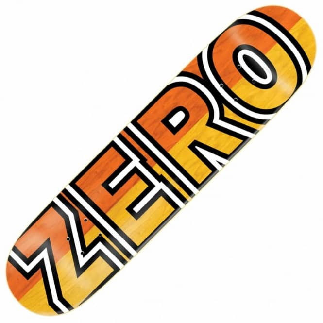 Zero Skateboards Boserio Signature Bold Skateboard Deck 8.375