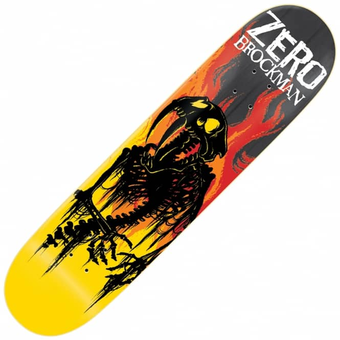 Zero Skateboards Brockman From Hell Impact Light Skateboard Deck 8.5