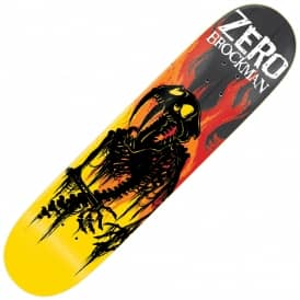 Zero Skateboards Brockman From Hell Impact Light Skateboard Deck 8.5""