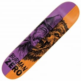 Zero Skateboards Burman Alter Ego Skateboard Deck 8.5""