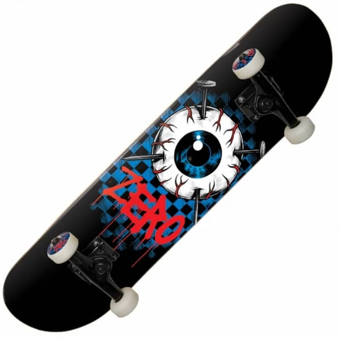 Zero Skateboards Eyeball Complete Skateboard 8""