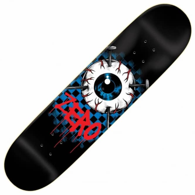 Zero Skateboards Eyeball Skateboard Deck 8.375""