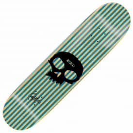 Zero Skateboards Garrett Single Skull Skateboard Deck 8.0""