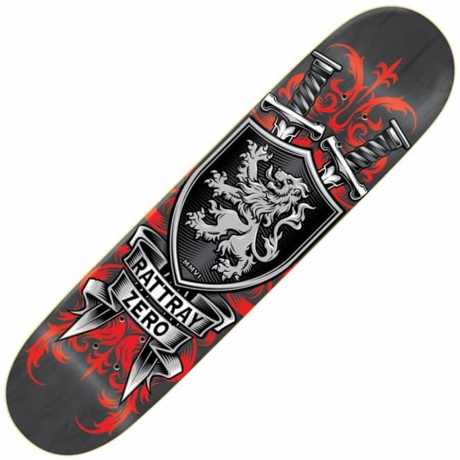 Zero Skateboards Rattray MMVI Reissue Skateboard Deck 8.5