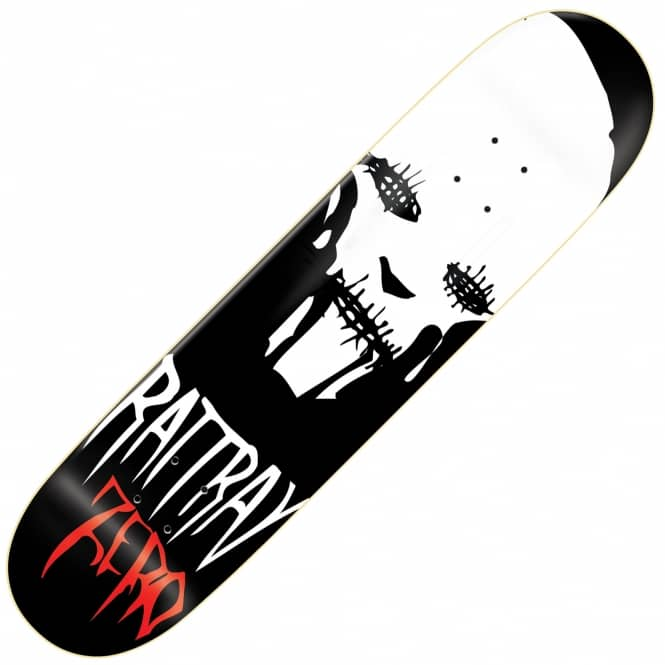 Zero Skateboards Rattray Stitches Skateboard Deck 8.0