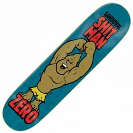 Zero Skateboards Sandoval Shitman Skateboard Deck 8.375''
