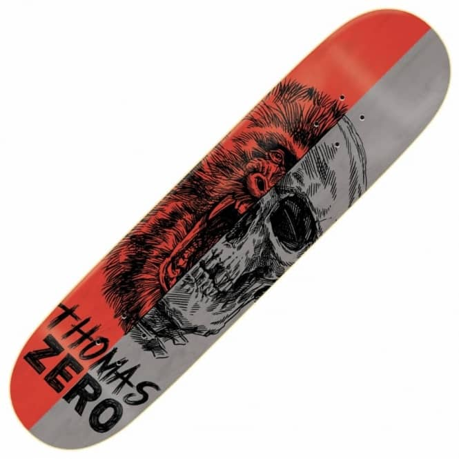 Zero Skateboards Thomas Alter Ego Skateboard Deck 8.375""