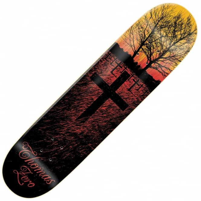 Zero Skateboards Thomas Life & Death Skateboard Deck 8.125''