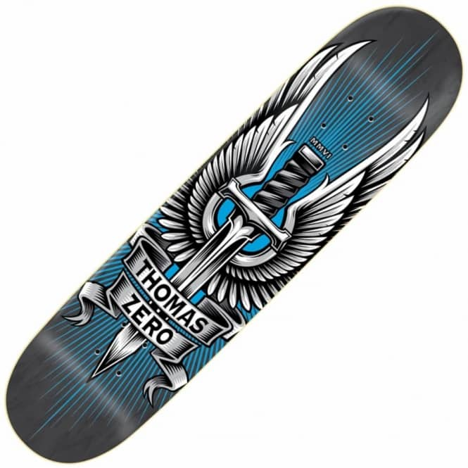 Zero Skateboards Thomas MMVI Reissue Skateboard Deck 8.25