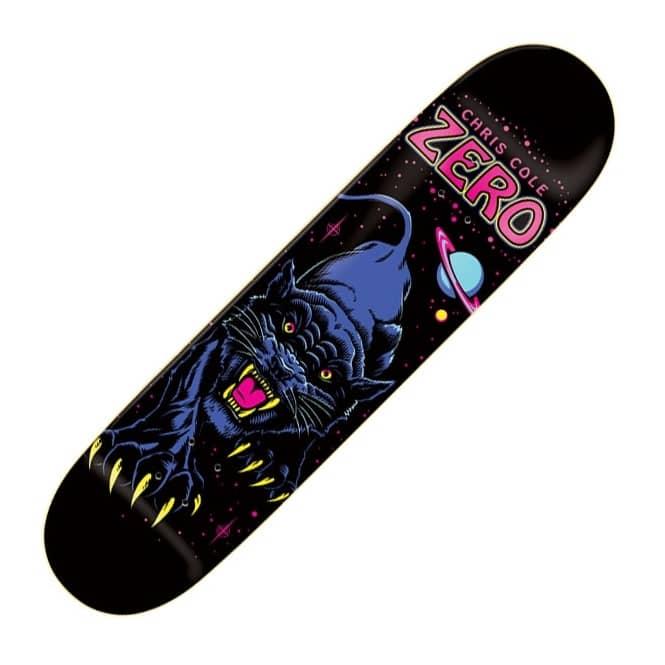 Zero Skateboards Zero Chris Cole Black Panther Skateboard ...