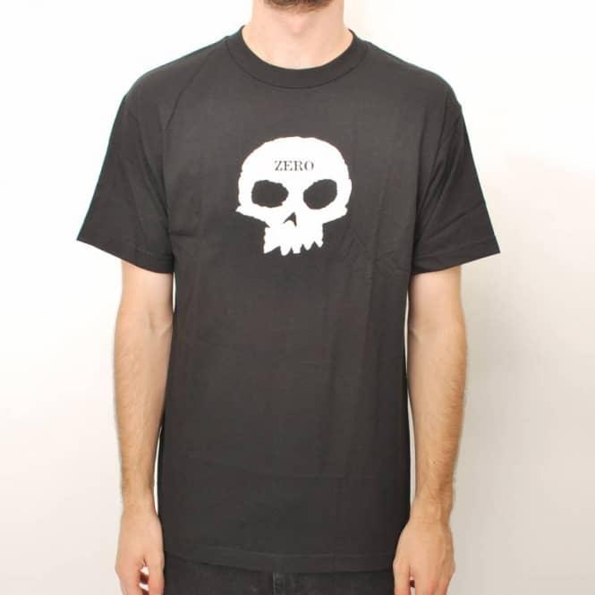01956aa0e914 Zero Skateboards Zero Skull Skate T-Shirt - Black - Skate T-Shirts ...