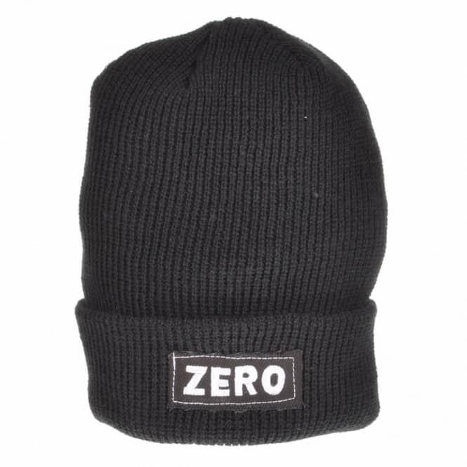 b725dc5c91cee Zero Skateboards Zero Watch Cap Skate Beanie - Black - Beanies from ...