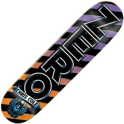 Zero Skateboards Zero Chris Cole Emblem Deck 8.0 ...