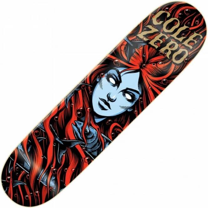 Zero Skateboards Zero Chris Cole Mermaid 2 Deck 7.5 ...
