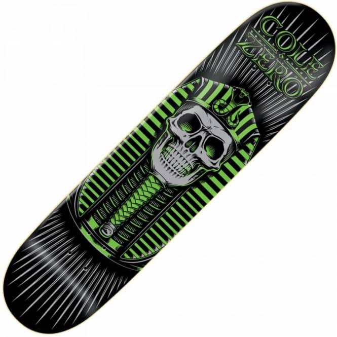 Zero Skateboards Zero Chris Cole Pharoah Green Deck 8.0 ...
