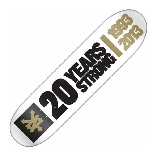 Zoo York 20 Years Strong Skateboard Deck 8.25