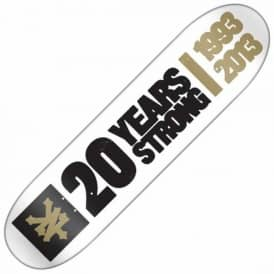 Zoo York 20 Years Strong Skateboard Deck 8.25""
