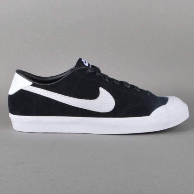 Zoom All Court CK QS Skate Shoes  BlackWhite