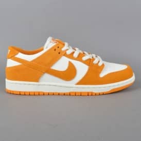 Zoom Dunk Low Pro Skate Shoes - Circuit Orange/Circuit Orange