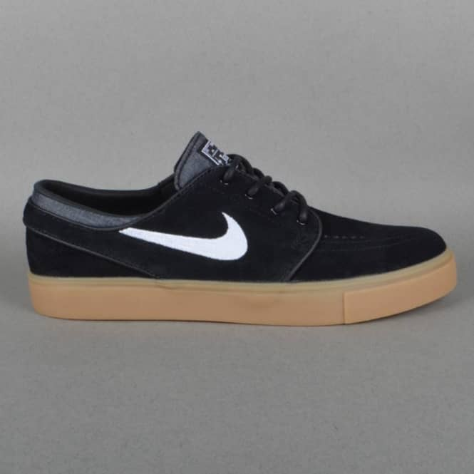 dec5c4ebce8d1 Nike SB Zoom Stefan Janoski Skate Shoes - Black/White-Gum Light ...