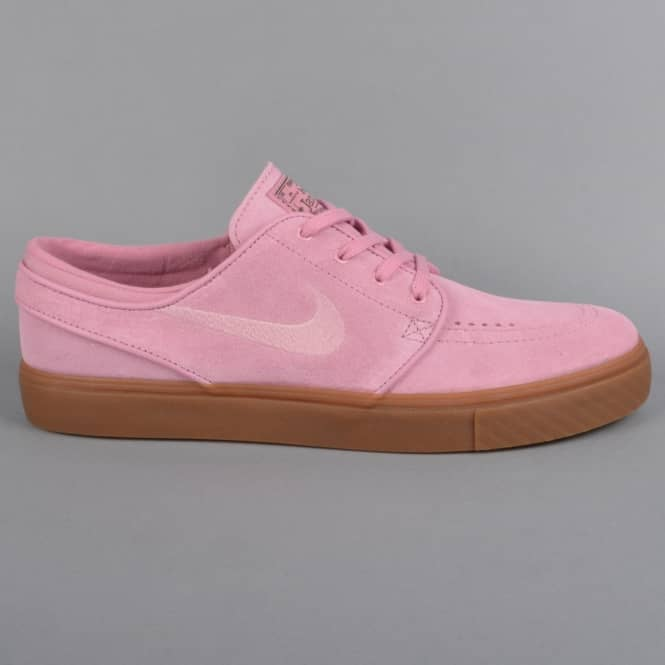 Nike SB Zoom Stefan Janoski Skate Shoes - Elemental Pink/Sequoia/Gum Dark Brown/Elemental Pink